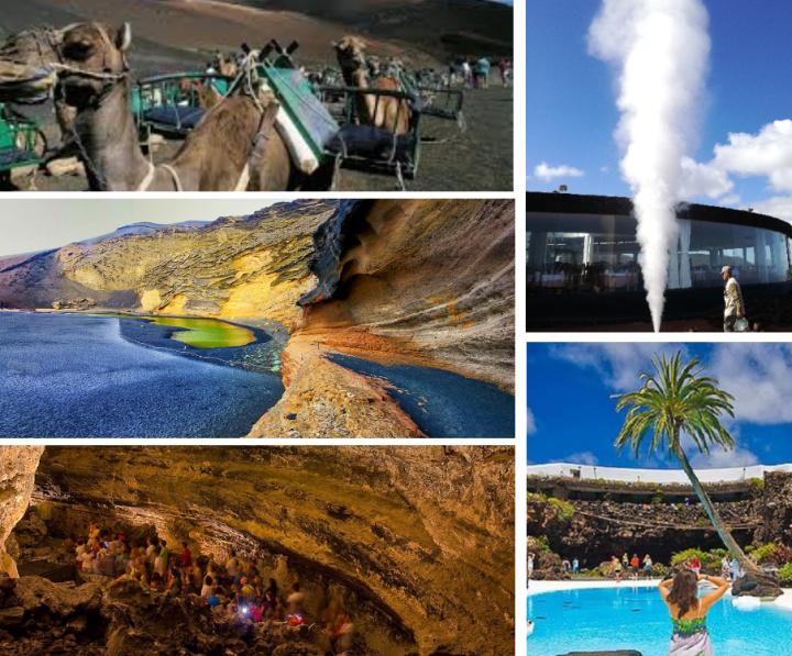 Excursión Lanzarote desde Fuerteventura